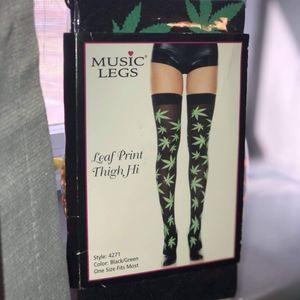 Thigh high 420 stockings